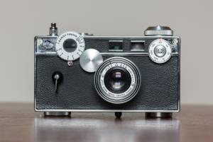 Argus C-3 film camera (Dublin, OH)
