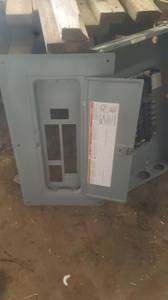 Newer 100 amp Breaker Panel with breakers (Percival, IA)
