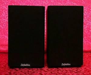 Definitive Technology BiPole Dipole Audiophile Speakers (Indianapolis)