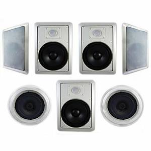 NEW Acoustic Audio HT-87 Home Theater 5 Speaker System (Rogers)