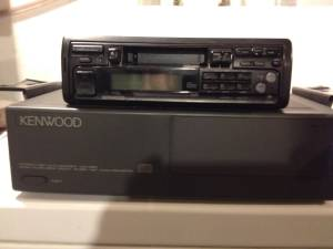 Kenwood in-dash receiver and 10 disc changer (St. Matthews)