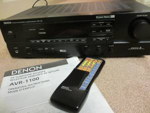 Receiver (Denon AVR-1100) (Owings Mills, MD)