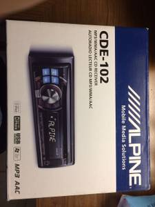 Alpine Car Stereo Cde-102 (Plantation)
