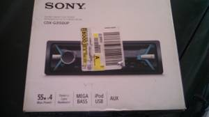 sony car stereo radio NEW (owensboro)
