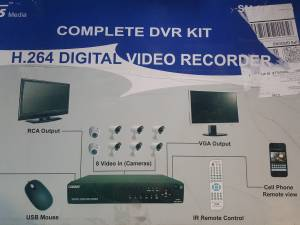 Wired Home Security DVR With 8 Cameras Brand NEW (Jeffersonville In)