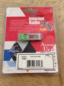 USB Worldwide Internet Radio + TV Media Flash Drive! (Thomas Township (Shields)