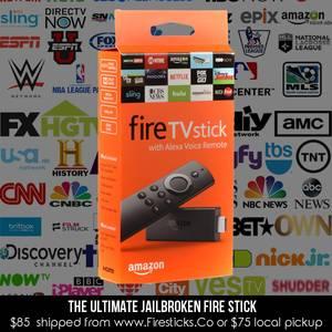 Jailbroken Amazon Fire TV Sticks (Sunset)
