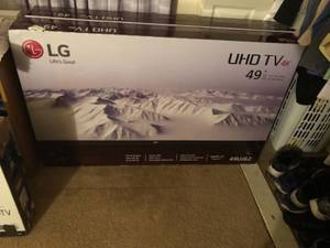 Brand new LG 4K smart tv still in the sealed box (Twin Falls)