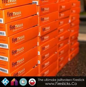 Jailbroken Amazon Fire TV Sticks - Kodi 17.6, Mobdro, Terrarium (sunset)