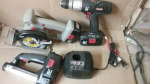 Craftsman 19.2 volt CIR. SAW, Drill , Light, and Charger (East - Bloomington,MN)