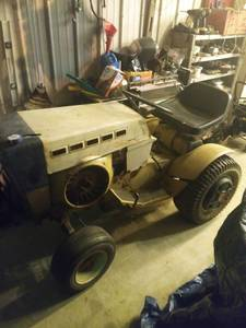 Sears SS-16 tractor (Scottsburg)