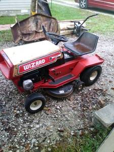 Old western auto mower tractor (Scottsburg)