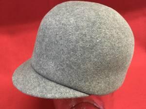 Vintage Geo W Bollman Excello 100% Wool Fedora Bowl Equestrian Hat Cap