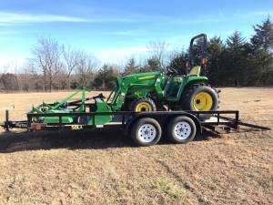 2016 John Deere 3032e 4x4 tractor package (Yale, ok)