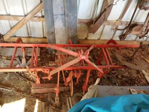 Massey 2 row cultivate plow (Kenly)