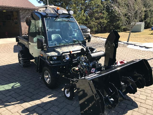 Utv Bercomac Snowblower