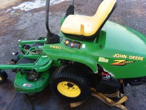 John Deere F620 Mower 508 Hours Needs Motor MAjor Repair (Bally18070)