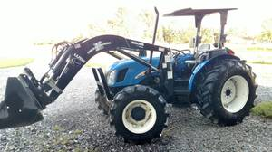 2007 New Holland TN60A (Pittsboro, IN)