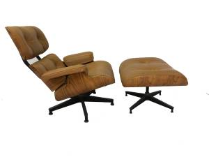 Authentic Early Herman Miller Eames Lounge Chair