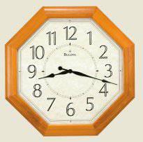 New Large Bulova Wall Clock - Abberly (Granville)