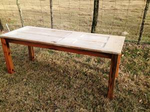 Rustic Antique Door Table (Victoria, TX, USA)