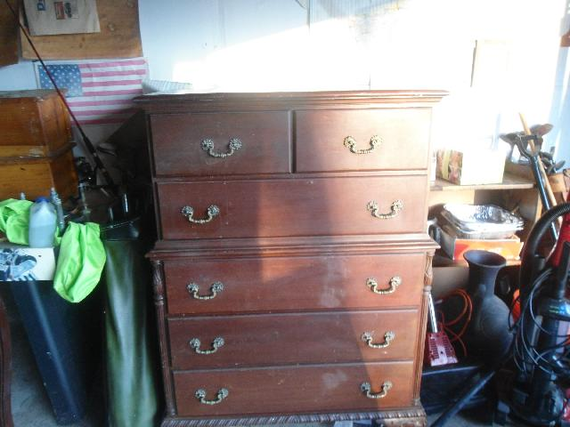 Chest of Drawers, Solid Wood