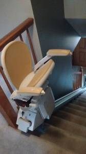 Stair chair lift (Mansfield)