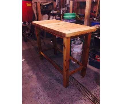 Custom White Cedar Table/Bar