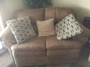 Couch, Love Seat , Just over 4 months old