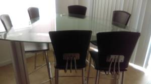 Modern dining set (Westside)