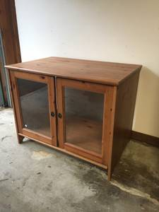 Ikea cabinet (Leskvik) (North Seattle)