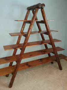 A Frame Shelf w/Logs (Boyers)