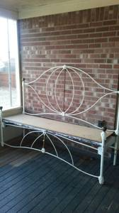 antique daybed bench (nesbit ms)