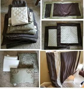 8 pc King Bed set