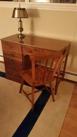 Ethan Allen Desk & Chair