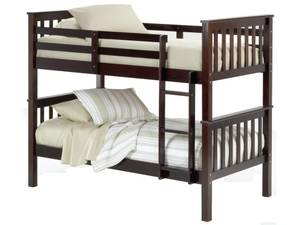 Twin Over Twin Bunk Beds (Meridian)