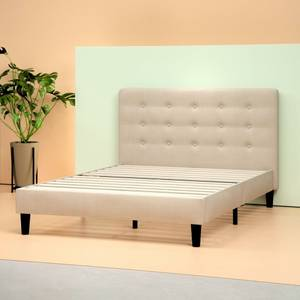 New Upholstered platform bed frame, queen size
