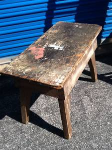 Old carpenters bench (Bentonville ar)