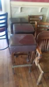 Square top bar stools (Baltimore)