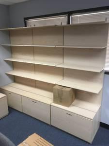 Bookcases/Display Shelving (4) (Chatsworth, CA)