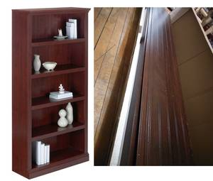 Premium wide bookcase