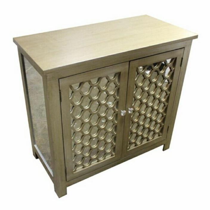 Creative Cabinet with 2 Doors - Benzara