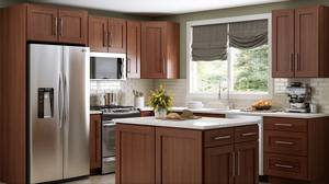 European style Natural Shaker Kitchen Cabinets 10x10 (md,dc,va)