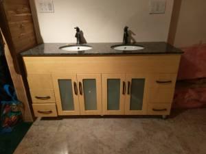 Vanity, Mirrors/Medicine Cabinets, Light Fixture (hwy 36 & Pecos)