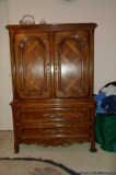 Bedroom Armoire and Matching Dresser - Price: Best Offer