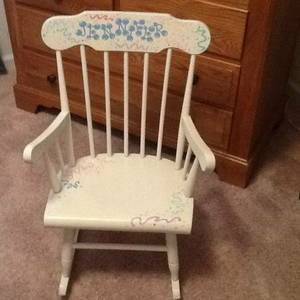 Child's Designer Rocking Chair (Raleigh area)