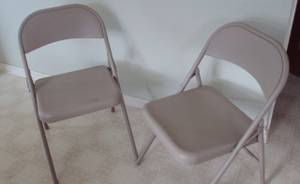 Samsonite Folding Chairs Pair (Hastings)