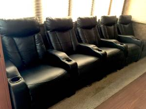 Theatre seating, reclining chairs (Glenwood Springs)