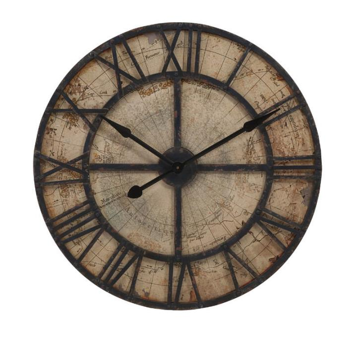 Enthralling Bryan Map Wall Clock
