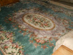 Gorgeous Hand Made estate Rug (CORAL SPRINGS)